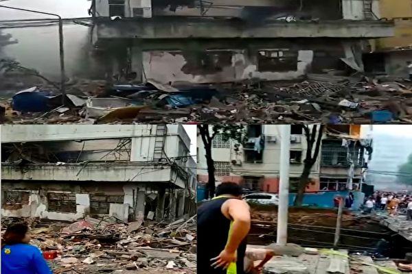 十堰燃气爆炸150死伤 现场戒严 不少人未救出