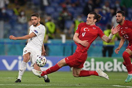 2020歐洲足球盃揭幕戰:意大利完勝土耳其