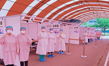 联新国际医院企业防疫快筛。
