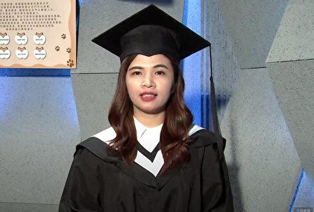 辛苦在台湾完成大学学业,醒吾科大国际商务系国际生何氏秋和,决定留在台湾工作,扮演越南与台湾沟通桥梁。