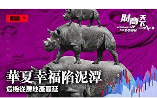 華夏幸福有鉅額債務違約 反應中國經濟惡化
