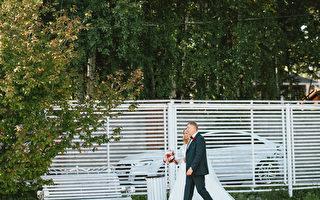 父親心臟病發作入院 女兒將婚禮轉到醫院