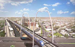 墨尔本机场铁路线 将建五公里高架桥