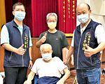 梧栖区长者103岁人瑞 疫苗施打最高龄