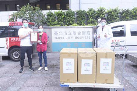 台業者捐逾7千件隔離衣 挺醫護警消