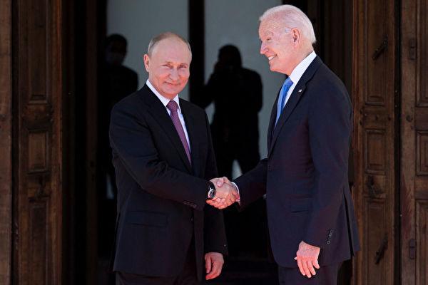 拜登普京紅毯會面 中共戰狼為何吹捧中俄友誼