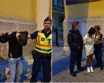 涉谋杀案 加国华裔女及男友匈牙利被捕照曝光