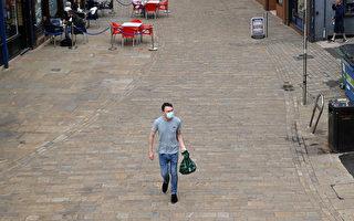 英国因为Delta变种病毒造成42人死亡,近1/3接种2剂疫苗,为何疫苗没能挡住Delta变种?图为英国因Delta变种而延迟解除封锁后空荡的街道。(Leon Neal/Getty Images)
