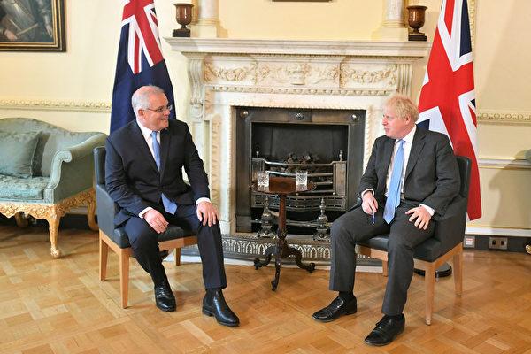 组图:英国脱欧后与澳洲签署首个贸易协议
