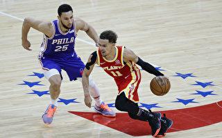 NBA老鷹克服26分落後 抓傷76人聽牌