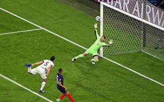 組圖:歐洲盃足球F組比賽 法國1:0勝德國
