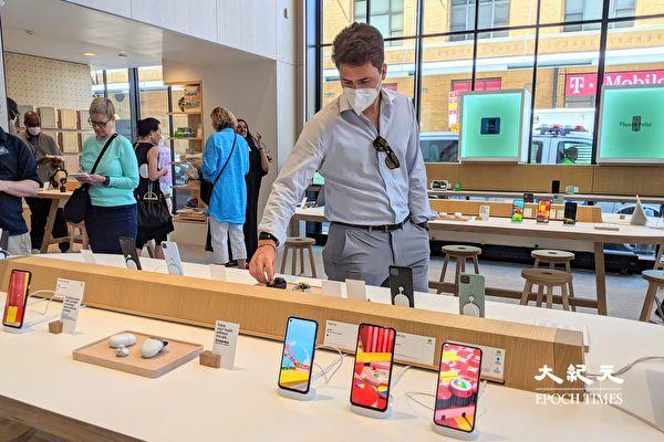 全球首间 Google Store 实体零售店 纽约开幕