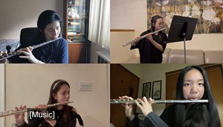 「紐約幼獅青少年管弦樂團」在疫情下堅持排練,6月12日舉辦了2021年線上音樂會,有33位學員參加,演奏了8首經典樂曲。