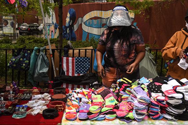 纽约市街头摊贩呼吁发放更多执照