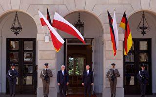 组图:德总统访波兰 纪念友好条约缔结30周年