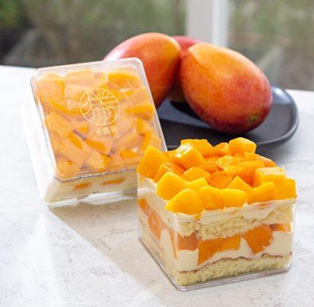 必胜烘焙研制所推出芒果宝盒