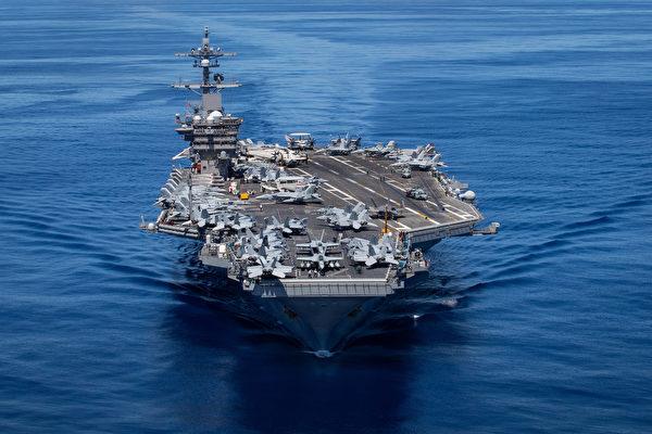 沈舟:卡爾文森號航母全新艦隊抵夏威夷