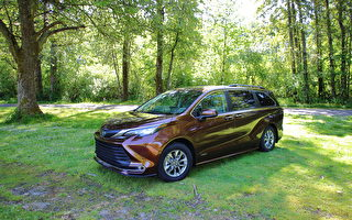 车评:更大更省油 2021 Toyota Sienna XSE