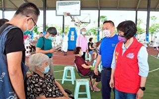 超暖心!彰化县专车接送90岁以上长者接种疫苗