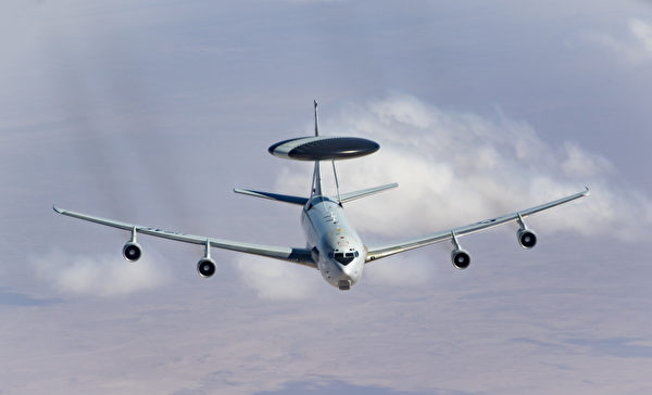 美国空军的E3哨兵预警机。(美国空军)