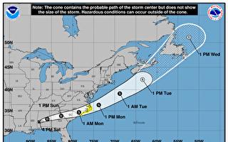 热带风暴席卷美墨西哥湾沿岸和东南部