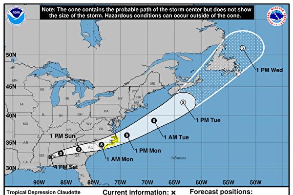 熱帶風暴席捲美墨西哥灣沿岸和東南部