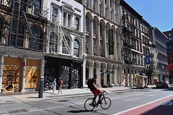 曼哈顿零售租金市场回温缓慢 苏活区租金下降约四成