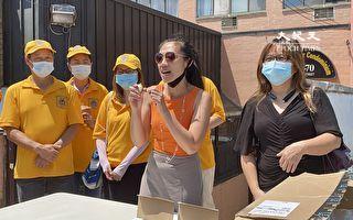 個人警報器防身實用 黃敏儀向社區發放
