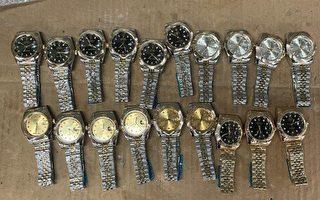 紐約JFK海關查獲28萬美元假勞力士手錶