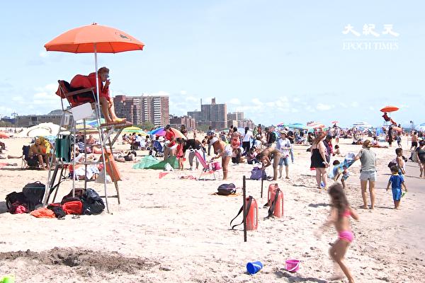 热带风暴或造成纽约海滩有危险离岸流