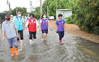 水淹埔心  縣長應允改善排水問題及洪害損失