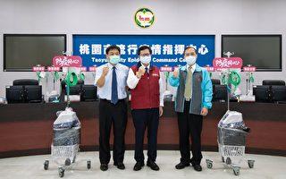 桃园13企业赠120台高流量氧气鼻导管全配系统
