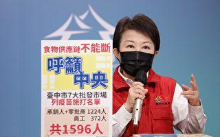忧心成北农翻版 卢秀燕呼吁为批发人员施打