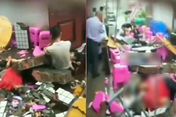 福建村民摆酒席时砖墙意外坠落 致9死7伤
