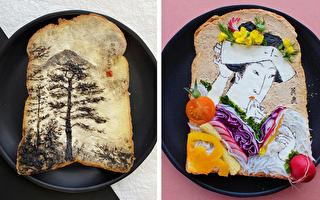 組圖:藝術早餐 日本設計師精緻的花式吐司