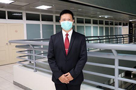 新任林森國小校長吳育楷。