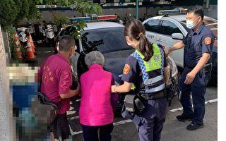 90歲高齡老婦外出買藥迷途 中壢暖警助返家