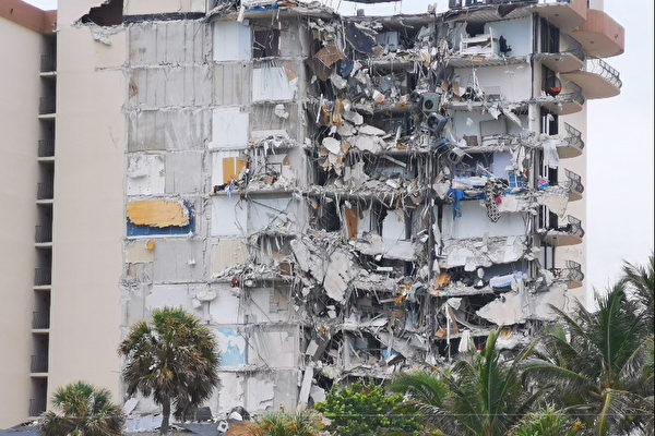 【更新】佛州12層大樓倒塌 99人下落不明