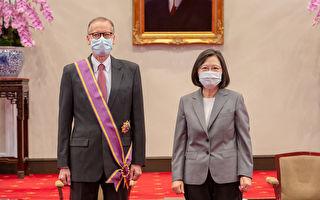 蔡英文總統授勳 酈英傑:台灣永遠不會離開我
