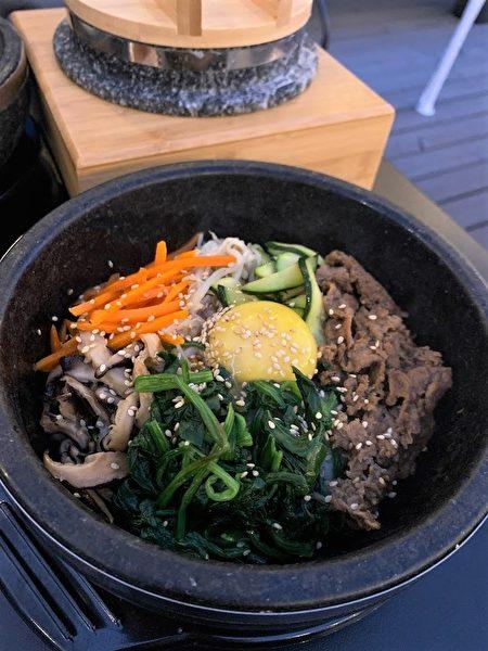 圖:「The Kunjip」韓式餐館剛剛在高貴林開張,大廚韓相助曾是電視劇《大長今》的特約料理諮詢師,希望奉獻正宗的韓國料理。(The Kunjip餐館提供)