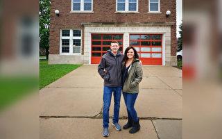 美國夫婦翻新1929年舊消防局 成家庭住宅