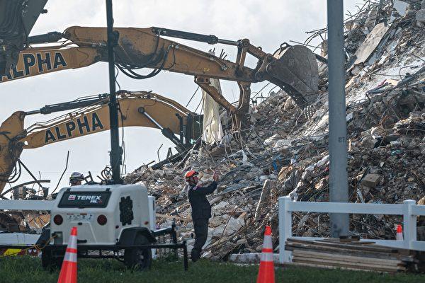【更新】佛州12层大楼倒塌 152人下落不明