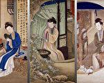 【馨香雅句】雍正十二美人圖  皇家仕女人文生活