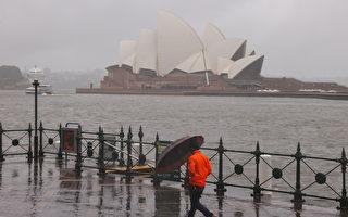 澳洲東部雨量或高達300毫米 局部恐有大雨