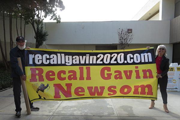 「罷免紐森」新進展:州長簽SB152以提前選舉