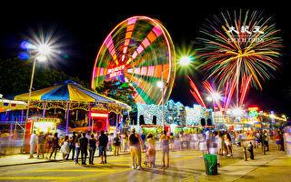 7月4日国庆烟花秀  重回纽约康尼岛