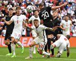 组图:欧洲杯足球1/8决赛 英格兰2:0胜德国