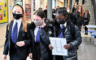 英國回家隔離學生人數顯著增加
