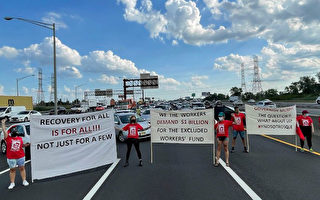 嫌撥款4千萬過低 新澤西無證移民堵高速路抗議