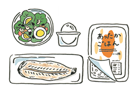 超商食品減重菜單:魚類。(采實文化提供)